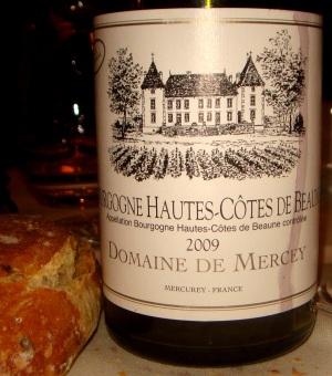 Vinho Bourgogne - Domaine de Mercey