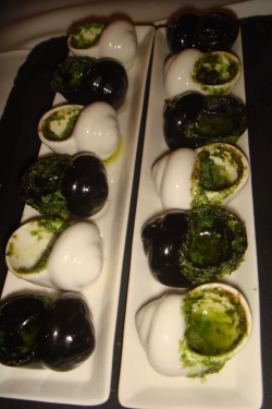 Escargots a bourguignonne