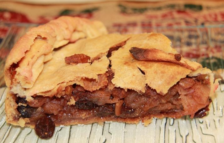 Torta de maçã da Cláudia