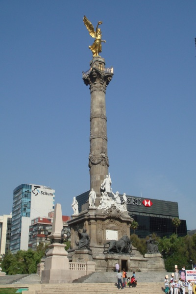 Monumento a la Independencia - Paseo de La Reforma, Cidade do México