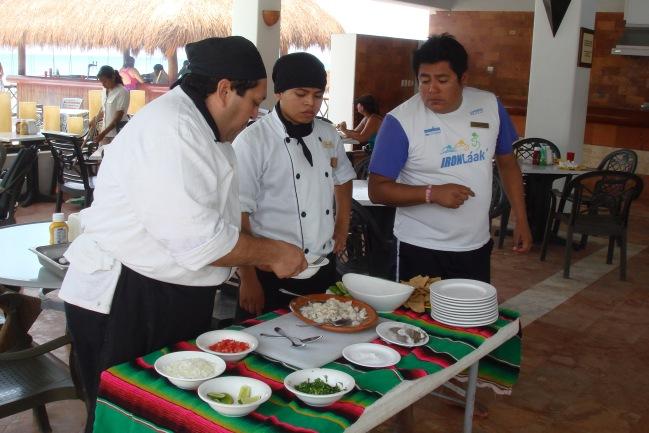 "Chef ensina a preparar um ""guacamole"""