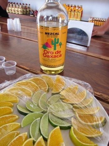 "O ""Mezcal"" produzido em Oaxaca a partir da Agave"