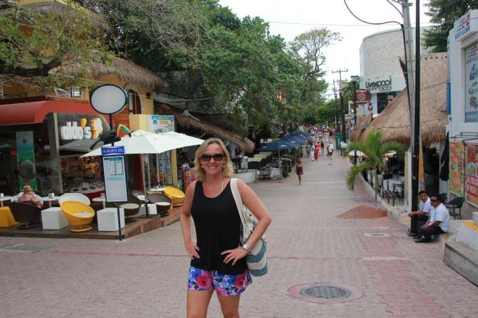 5ª Avenida, em Playa del Carmen