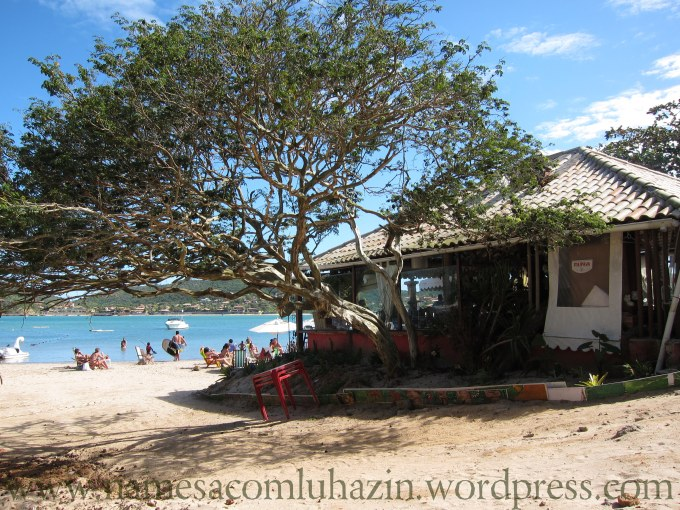Restaurante Capricórnio, na Praia da Ferradura