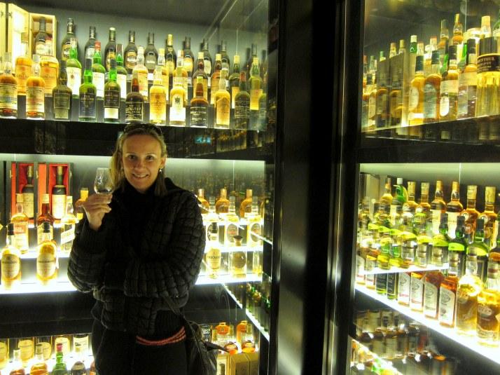 Coleção de 3.400 garrafas de whisky