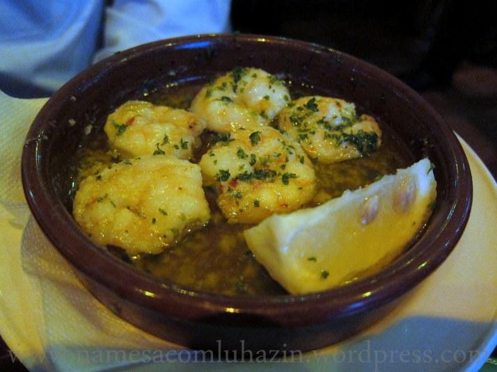 Camarões do Café Andaluz
