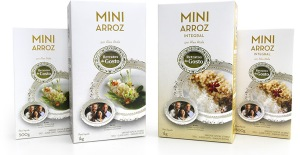 Mini arroz Retratos do Gosto