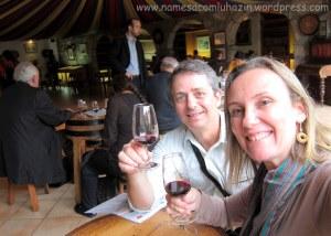 Degustação de vinhos do Porto na Taylor's