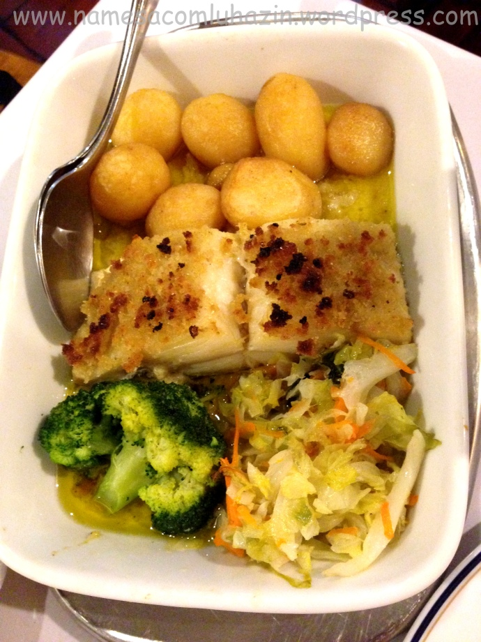 Bacalhau crocante com batatas (Bacalhau à Grade)