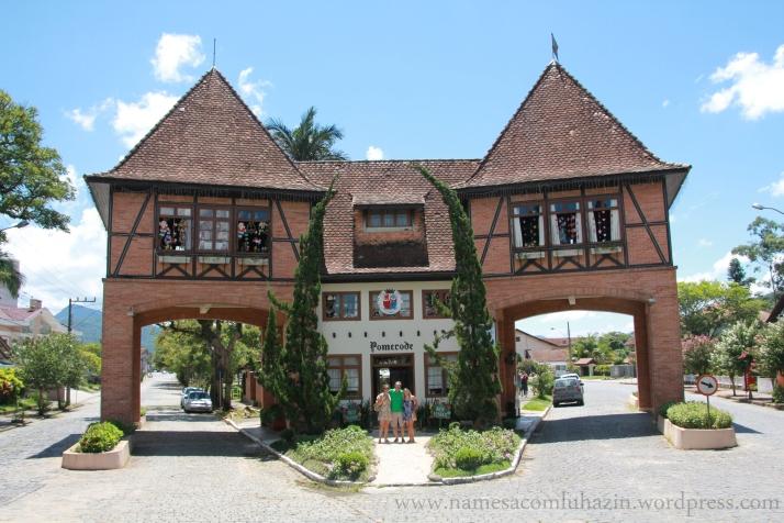 Portal de entrada de Pomerode