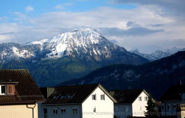 Localidade próxima a Luzern - Suíça