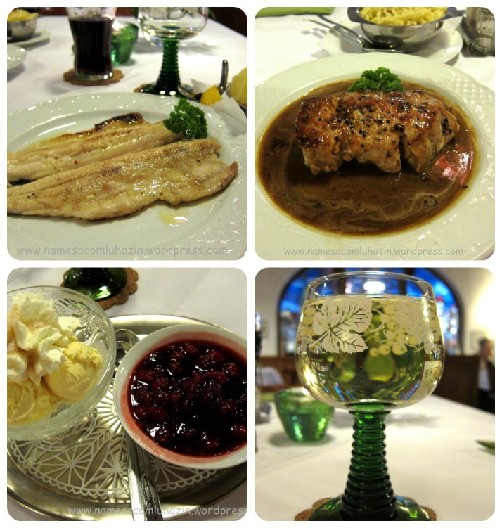 Restaurante Englers, no centro de Freiburg-im-Breisgau, Alemanha