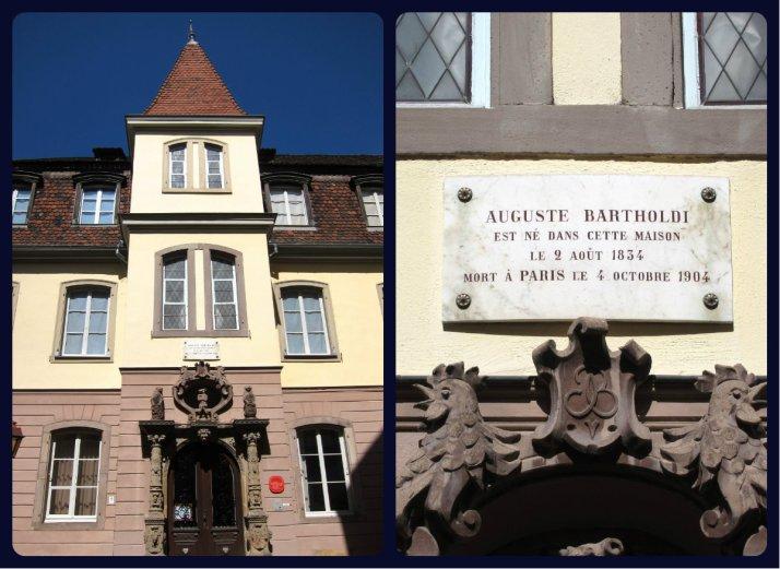 Casa do Bertholdi, o autor da Estátua da Liberdade