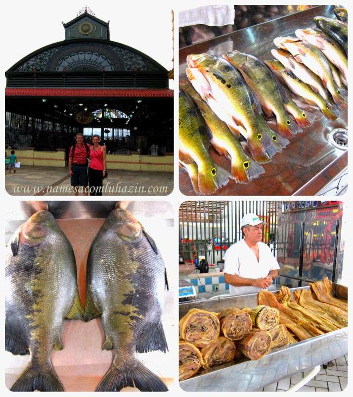 Mercado Municipal Adolpho Lisboa, em Manaus