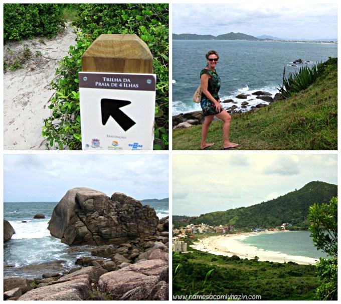 Trilha da Praia de 4 Ilhas, Bombinhas - SC