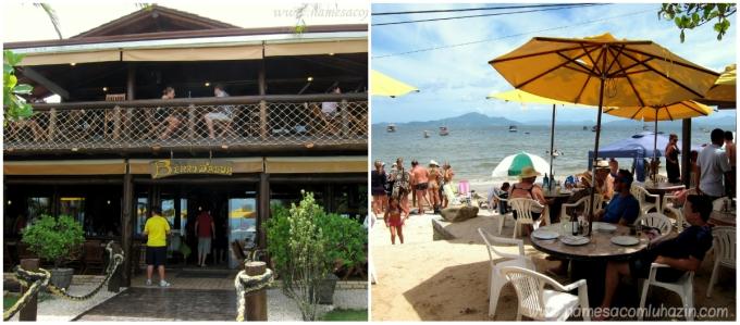 Restaurante Berro D'água, Praia de Zimbros, Bombinhas - SC