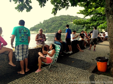 Mureta do Bar Urca