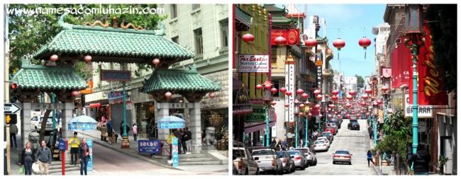 Bairro de Chinatown, em São Francisco