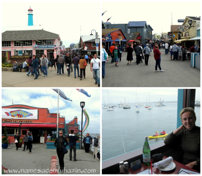 Fisherman's Wharf de Monterey e restaurante Big Fish Grill