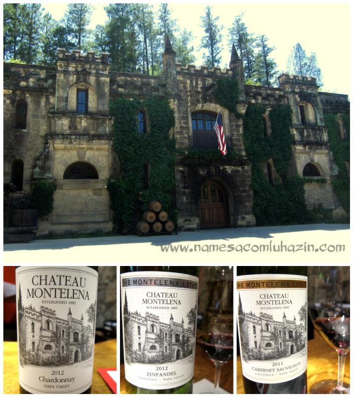 Château Montelena e os vinhos que degustamos, o cabernet sauvignon