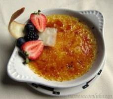 Crème brulée do Hotel Ah