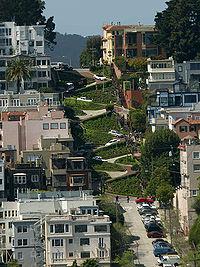 Lombard Street, em São Francisco