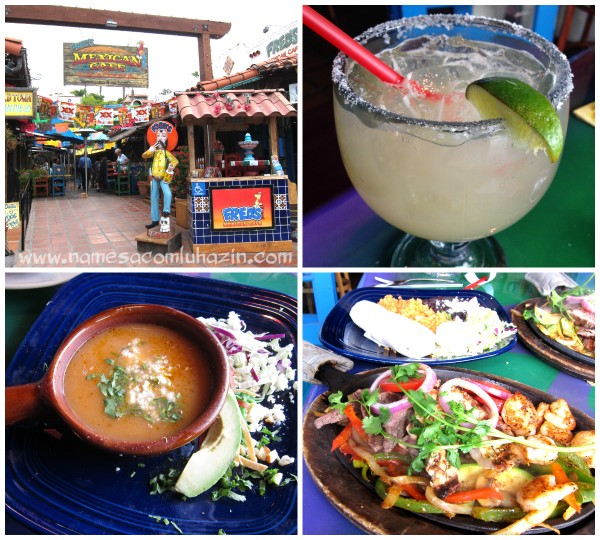 Almoço no Fred's Mexican Cafe, em Old Town -  San Diego
