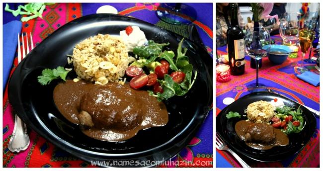 """Codorna com """"mole poblano"""", molho ícone mexicano que leva mais de 20 ingredientes"""