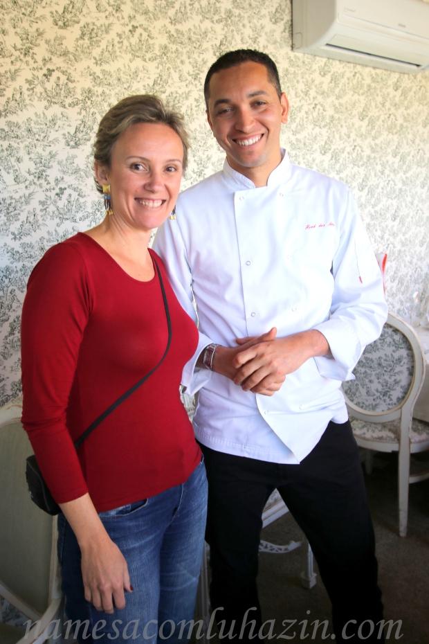 Eu e o Chef Fred dos Anjos