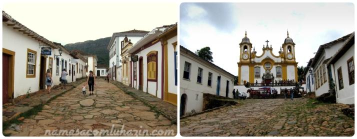 Cidade histórica de Tiradentes - MG
