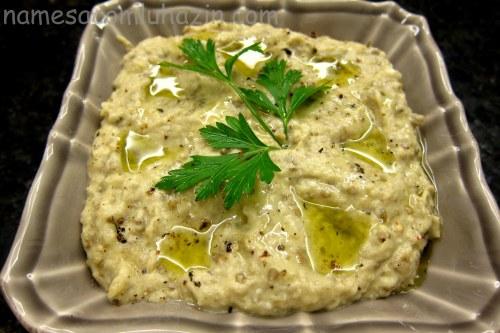 Babaganoush, um clássico da cozinha árabe
