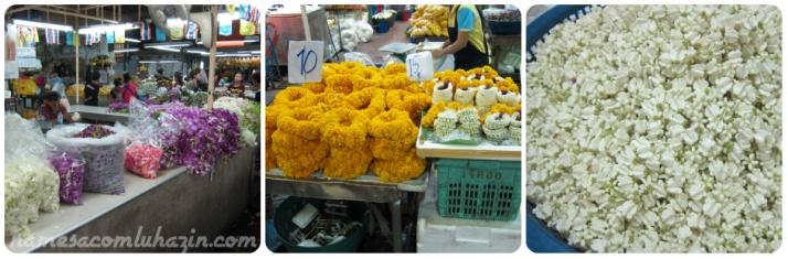 Mercado de Flores, no caminho para o hotel Aurum