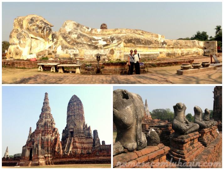 Buda Reclinado e o Wat