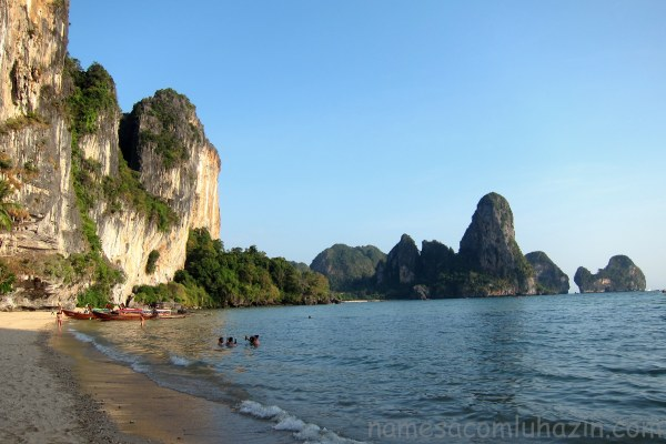 Railay Beach, litoral da Tailândia