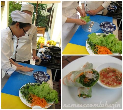 Chef ensina a fazer spring rolls
