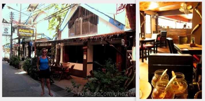 Restaurante Anna's em Phi Phi