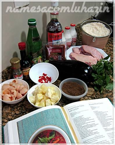 Separe todos os ingredientes antes de preparar a receita