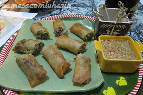 spring rolls tailandeses