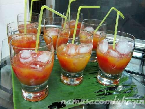 """Drink que tomamos no Vietnã: """"Passion in love"""""""