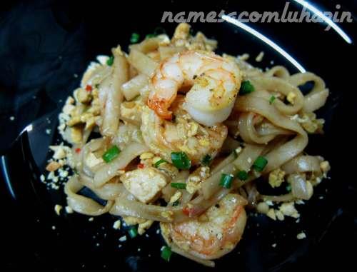 Pad Thai, um dos pratos mais tradicionais da Tailândia