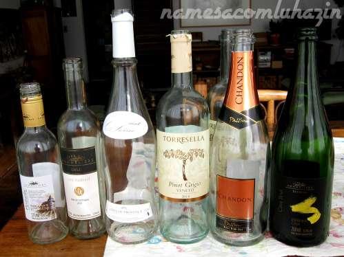 Vinhos que acompanharam o jantar