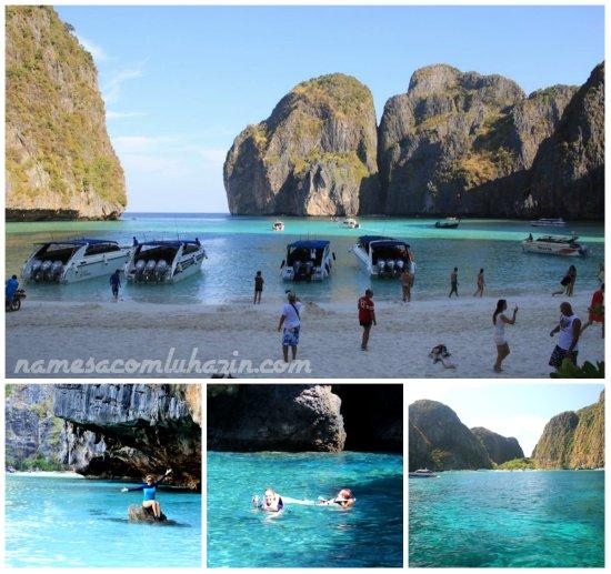 Maya Beach, na ilha de Phi Phi Lee