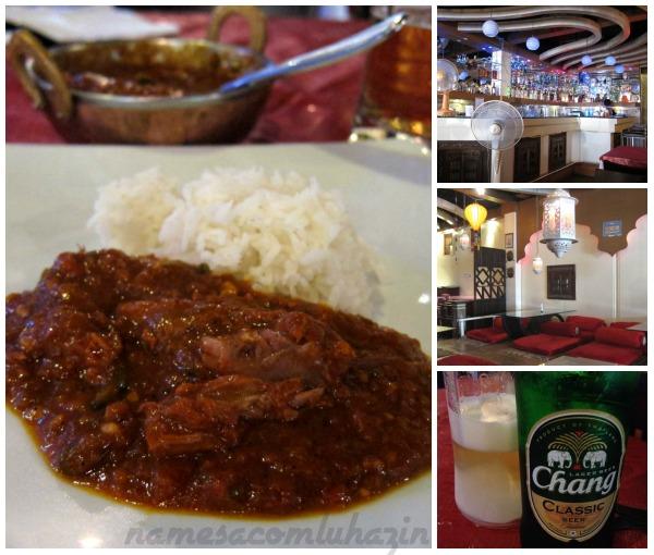 Restaurante indiano em Phuket