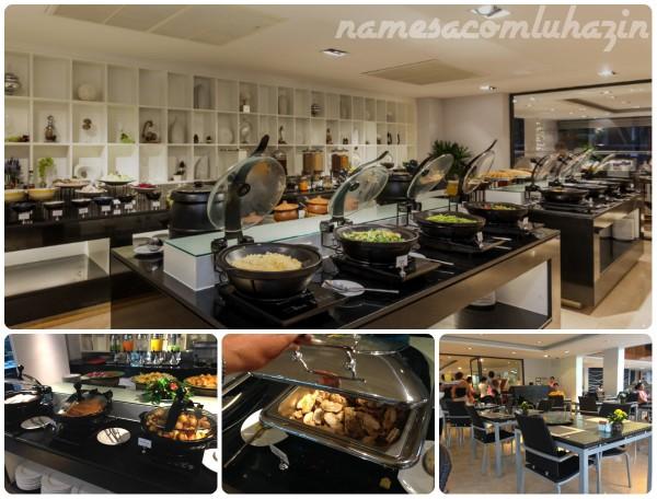 Café da manhã estupendo no The Charm Hotel em Phuket
