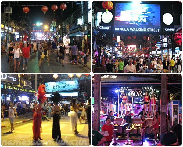 """Rua """"exótica"""" em Phuket"""