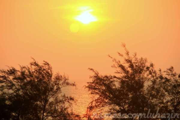 Pôr do sol em Phuket