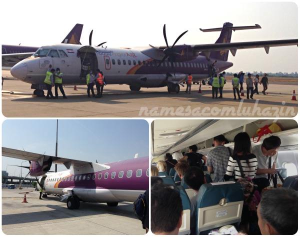 Avião da Camboja Airways... aff!!!