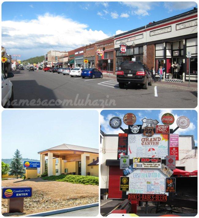 Cidadezinha de Williams, na Route 66