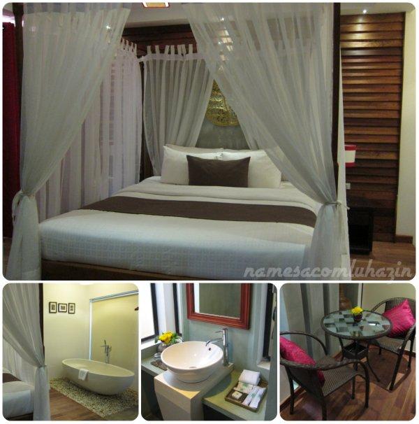 Nosso quarto no Chronicle Angkor Hotel em Siem Reap