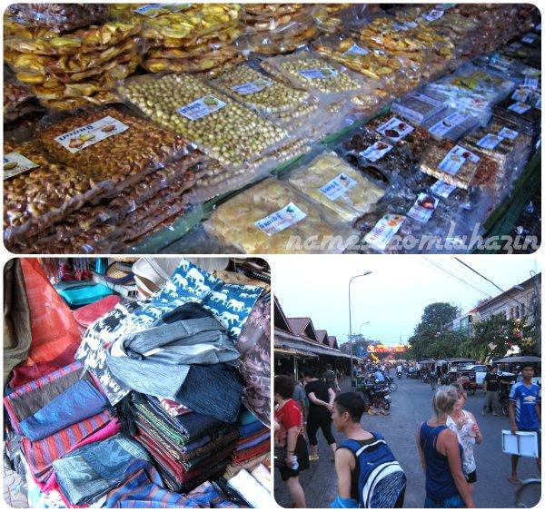 Olk Market, em Siem Reap